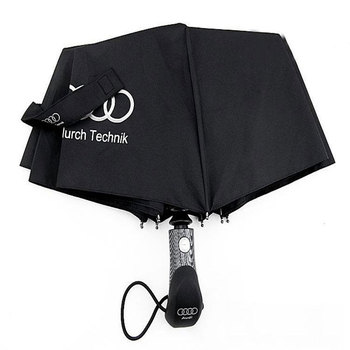 2018 Free shipping Big Fashion High Quality Audi business Umbrellas black parasol Long handle men Automatic Umbrella