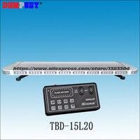 TBD-15L20 высокое качество DC12V 88 Вт свет бар/высокой мощности предупреждение световая/мигающий свет/18 flash шаблоны