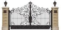 Aluminium Gates Driveway Gates Wrought Iron Gates Forged Iron Gates Hench 25