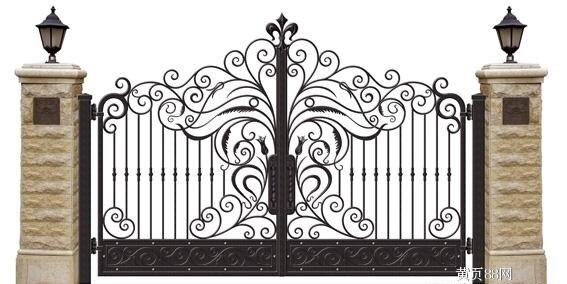 Hench 100% Handmade Forged Custom Designs Metal Property Gates