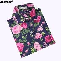 Floral Blouses Roupa Feminina Elegante 2017 Fashion Long Sleeve Shirt For Ladies Factory-direct-clothing Cheap Clothes China