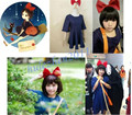 Kiki Delivery Service Cosplay Costume+Bag+Hairband Customize Any Size New S-XXXL