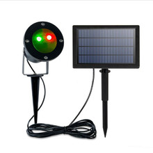 New Solar Ambiance Light Projector Laser Lawn Lamp Outdoor Waterproof Christmas Garden Decor Path