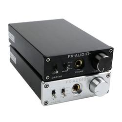 FX-AUDIO DAC-X6 HiFi 2.0 Digital Audio Decoder DAC Input USB/Coaxial/Optical Output RCA/ Headphone Amplifier 24Bit/96KHz DC12V