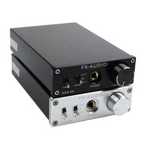 Image 1 - FX AUDIO DAC X6 HiFi 2.0 Digital Audio Decoder DAC Input USB/Coaxial/Optical Output RCA/ Headphone Amplifier 24Bit/96KHz DC12V