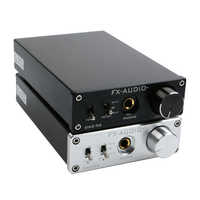 FX-AUDIO DAC-X6 HiFi Digital 2,0 decodificador de Audio DAC USB de entrada/Coaxial/Salida Óptica RCA/amplificador auriculares 24Bit/96KHz DC12V
