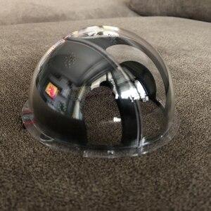 Image 5 - 4 بوصة عدسة الأكريليك كاب الزجاج غطاء وقائي نصف الكرة البصرية الكرة حالة للماء ل OwlCat كاميرا بشكل قبة SD13W SD17W 109x57mm