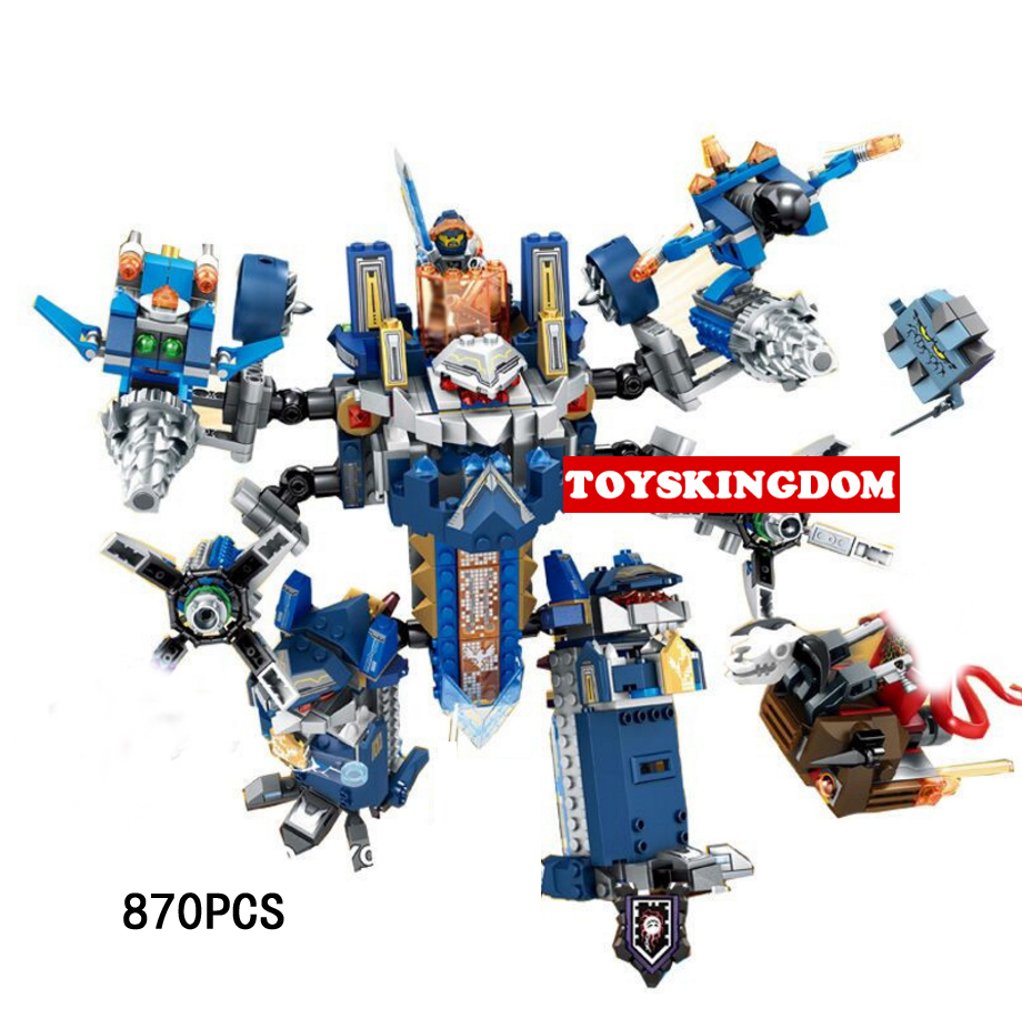 2017 new nexus nick knights The Royal Guard ultimate armor building block stone devil robot clay figures bricks toys for boys 2018 next cavalier nexus knight the stone colossus of ultimate destruction building block joker jestro figures bricks 70356 toys