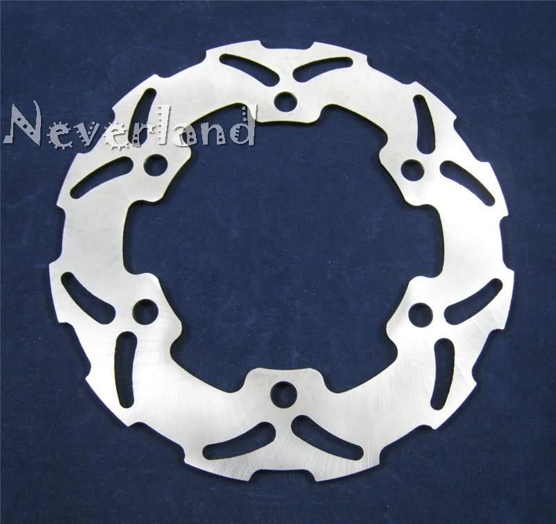 ФОТО Hot sale Motorcycle Rear Brake Disc Rotor for Honda CR 125 250 500 R 125R 250R Free shipping C20