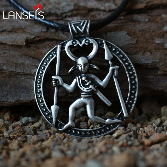 Lanseis10pc odin pendant with a design from the late iron viking lanseis10pc odin pendant with a design from the late iron viking necklace age a warrior in aloadofball Gallery