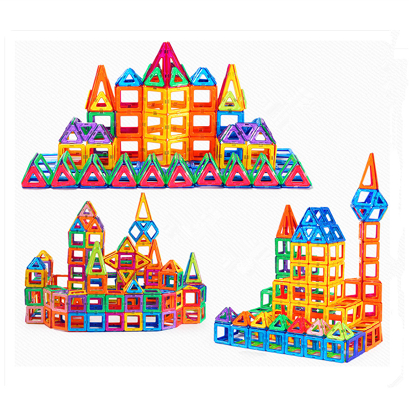 Mini Scale Magnetic Blocks Building Model Block 3D DIY Children Toys Educational Construction Bricks Toy For Kids 12 style one piece diamond building blocks going merry thousand sunny nine snakes submarine model toys diy mini bricks gifts