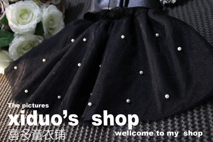 Sweet Girl Bow Tutu Skirt Babay Girl Princess Bow Gown Skirt (14)