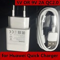 100% NEW US EU Plug 18W 5V OR 9V 2A QC2.0 Fast USB WALL Charger for HUAWEI HONOR 7 Mate 8 S LG P8 LITE MAX HTC SAMSUNG