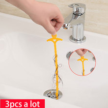 vanzlife kitchen drain sewer cleaning hook for household sink drain toilet clear blockades cleaning hooks
