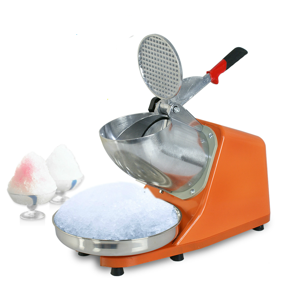 Ice Shaver Machine Snow Cone Maker Shaved Icee 143lbs Electric Slushy Maker Crusher new product distributor wanted 90kg h high efficiency electric ice shaver machine snow cone maker ice crusher shaver price