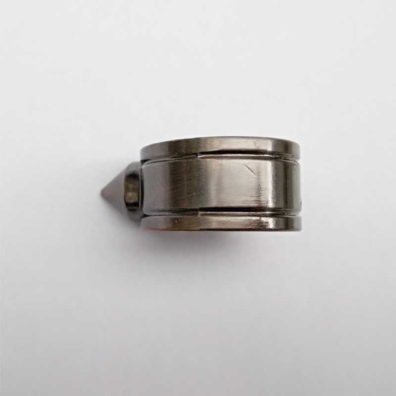 Auto Defesa de Proteção da Cadeia de Anel de Dedo Colar De Vidro Disjuntor Jogo Legal Survival Arma