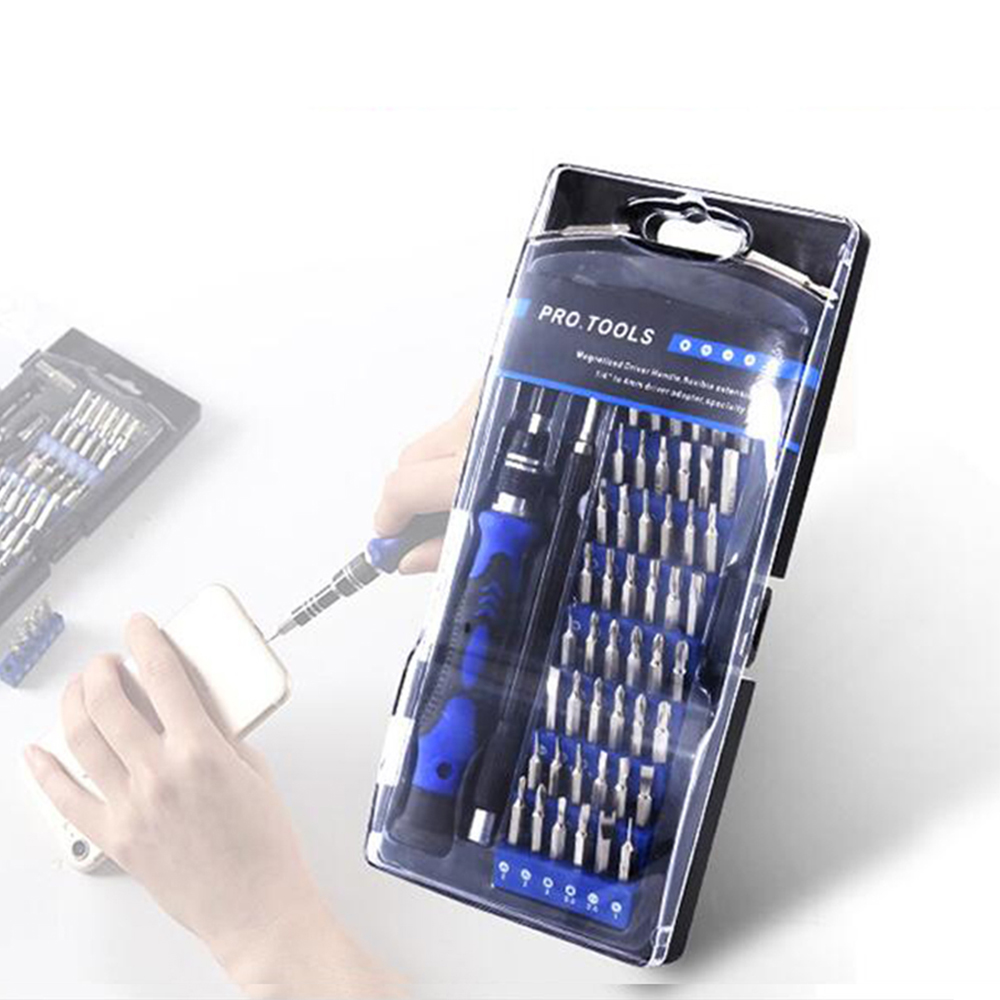 60 in 1 Magnetic Screwdriver Set Pentalobe Phillips Slotted Torx for MacBook Laptop Mobile Phone Camera Tablet PC Computer Tools image