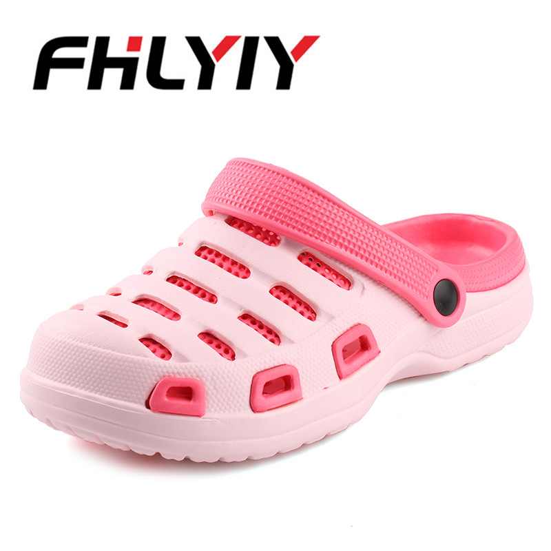 2018 Women Sandals Summer Slippers Shoes Croc Casual Beach Sandals Fashion Flat Slip On Flip Flops Female Outdoor Lady Shoes