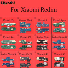 cltgxdd 1~10pcs For Xiaomi MAX MIX 4S 5C Redmi 3S 4 4pro 4A 4X Note Note4x USB Dock Connector charger Charging Port Flex Cable
