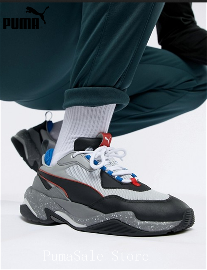 Detail Feedback Questions about PUMA Thunder Electric Spectra Men s Sneakers  367996 02 Badminton Shoes Grey Black Thunder Desert Sneaker Retro Dad Shoes  36 ... 2aeb44dc1