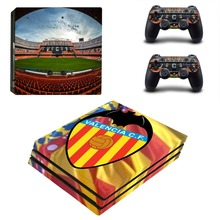 Valencia Los Ches Estadio de Mestalla PS4 Pro Skin Sticker Decal Vinyl for Sony Playstation 4 Console and 2 Controllers PS4 Pro