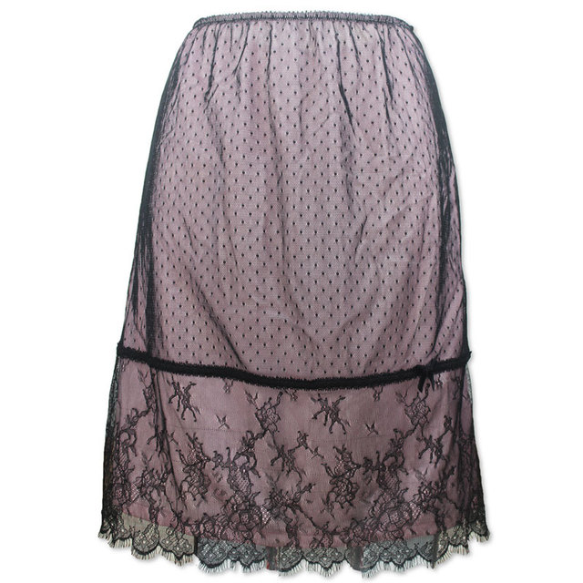 Vintage high-end quality Lace sexy underdress/underskirt for women/female/girl/lady, New fashion Petticoat half slips A014