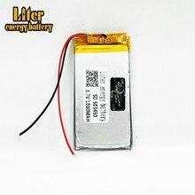 Polímero De Lítio bateria Recarregável Li-ion 1000 mAh 3.7V bateria Lipo 503450 053450 para telefone inteligente DVD mp3 mp4 Levou lâmpada câmera