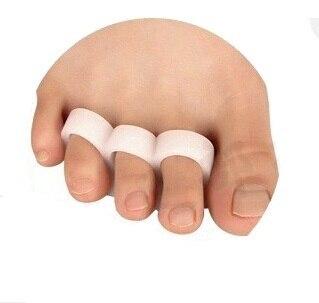 2pcs=1pair  Feet Care Tools Hallux valgus orthotics each toe outer thigh bone orthotics open toes Toe separator deformity