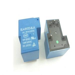 Image 4 - 10 개/몫 전원 릴레이 SLA 05VDC SL A SLA 12VDC SL A SLA 24VDC SL A SLA 48VDC SL A 5 V 12 V 24 V 48 V 30A 5PIN T90