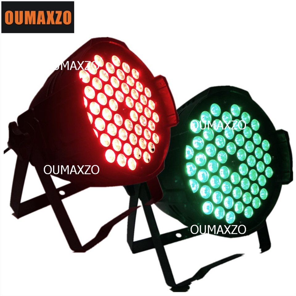 2pcs/lot 3w led light 54pcs rgb 3in1 led par for stage wedding decoration 3in1 54pcs 3w led light par for dj/disco slim led par free shipping to north america rgb 3in1 super thin led wall washer 24x3w dc 24v 4wires 10pcs lot used for commercial decoration