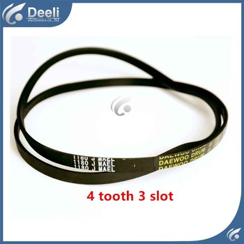 1pcs for washing machine belts 1180J MAEL treadmill motor belts fitness drive belts 4 tooth 3 slot good working image
