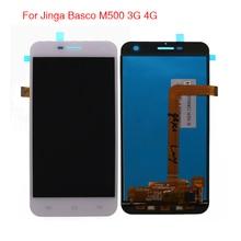 무료 도구와 jinga basco m500 3g 4g lcd 디스플레이 터치 스크린 디지타이저 어셈블리에 대 한 높은 품질