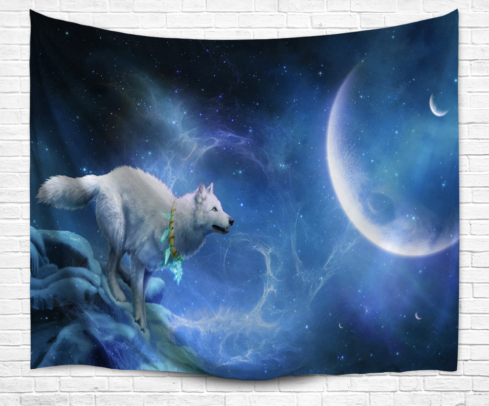 Tapestry Home Decoration Print Starry sky Bedroom Tapestry Art Wall Tapestries Plant Printed Hanging Wall DecorationTapestry