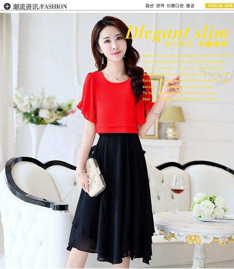 69b61f6639789 free shipping women wide leg pants set fashion summer Korean Chiffon casual  stripe 2-piece set temperament women dress CSWD005USD 28.74/piece