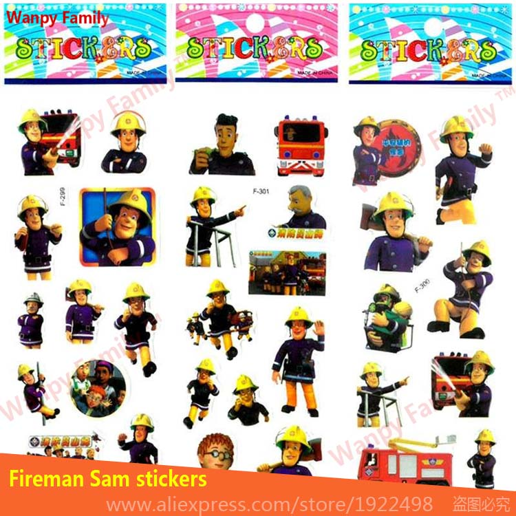 10Pcs Lot 3d Animated series Bob the Builder wall stickers Pre school education 3d mini stickers for kids home decor stickers in Wall Stickers from Home Garden