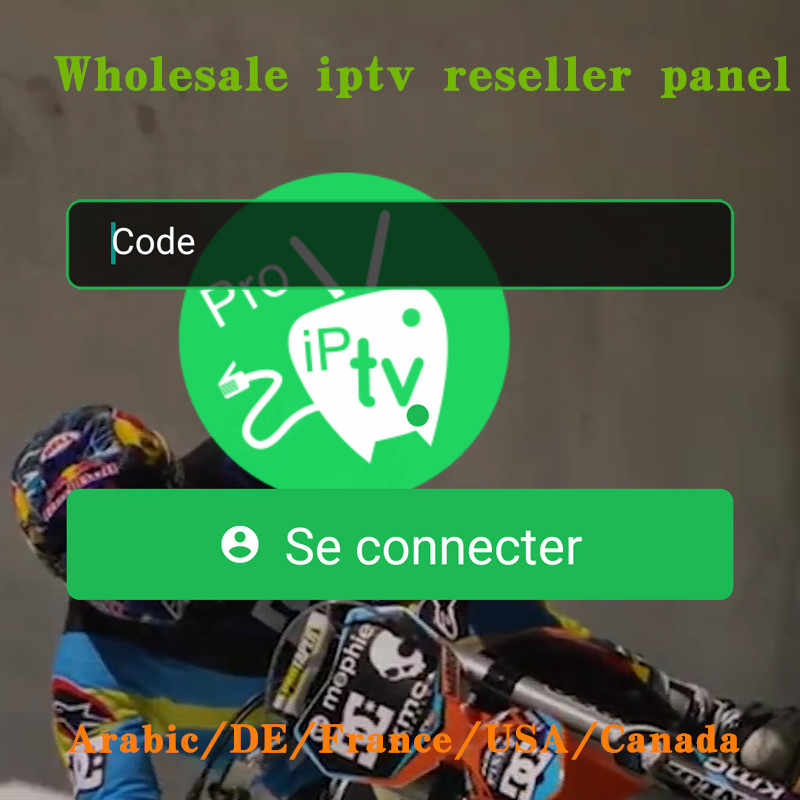 Wholesale IPTV Provider Proiptv Account Subscription Reseller Panel 1 Year with French Arabic Germany US European IPTV Channels