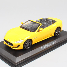 1:43 Scale luxury mini GranTurismo Convertible Gran Cabrio Sport GT Grand tourer diecast models cars vehicles Toys for children