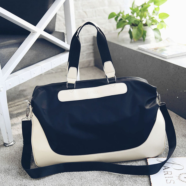 1b071b68a5 New Handbag Satchel canvas bag portable single shoulder bag color stitching  nylon Oxford travel bag 3001