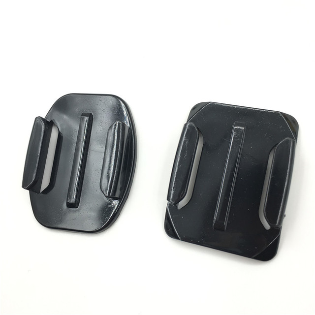 For Go pro Accessories Sticker Flat Curved Adhesive 3M VHB Mount surfboard surfaced helmets for GoPro HD Hero 3+ 4 for Xiaomi Yi