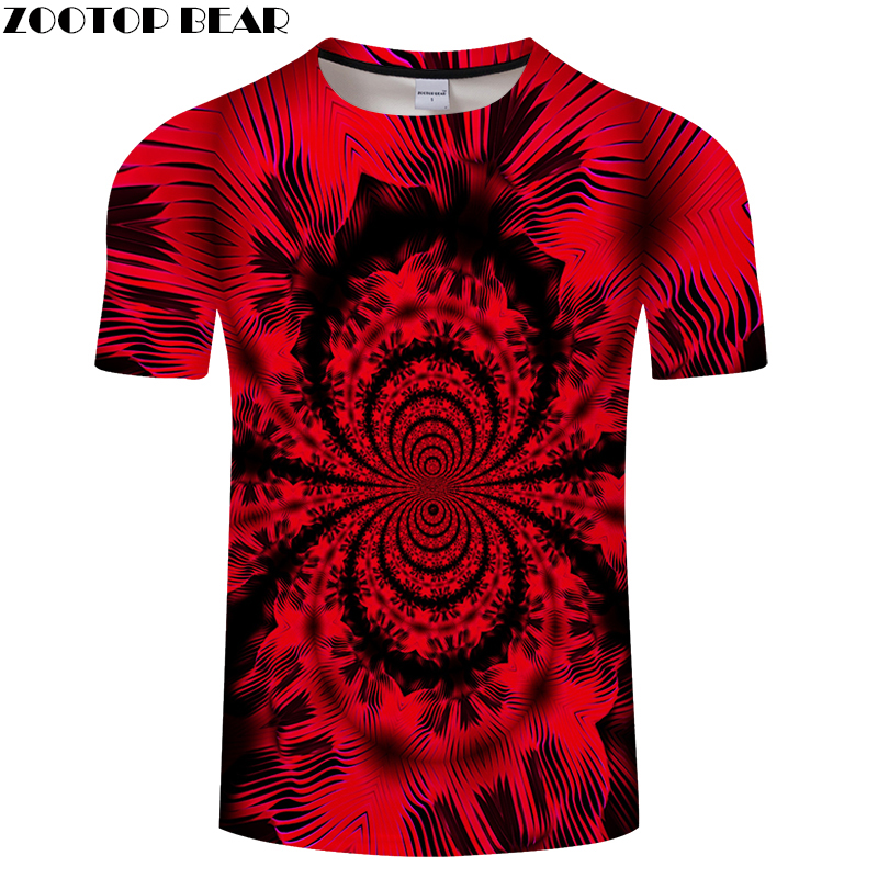 Red 3D Butterfly tshirt Men T shirt Summer t-shirt Streatwear Tee Funny Top 6XL Short Sleeve Camiseta O-neck Dropship ZOOTOPBEAR