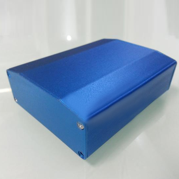 цена на DIY Aluminum Enclosure PCB Instrument electronics enclosure Project box for circuit board - 64X25.5X80mm NEW