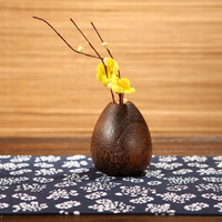 Home Decoration Accessories Wood Handicraft Vase European Style Flower Vase For Wedding 3 Style For Your