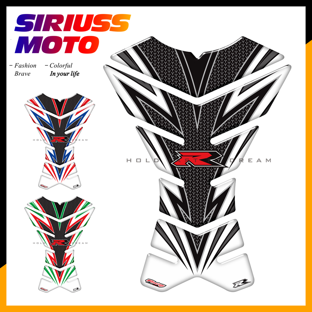 3D Motorcycle Tank Pad Protector Sticker Motocross Racing Team Tankpad Case for BMW S1000R/RR F800R/GS/ST/S K1200R/RT/S/ST camille s team