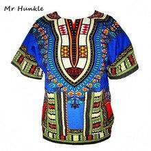 Африканская riche африканский базен dashiki традиционный новая футболки печати одежды топы