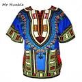 Dashiki New African Clothing Traditional Print Tops Fashion Design African Bazin Riche Clothes Dashiki T-shirt For Men Women