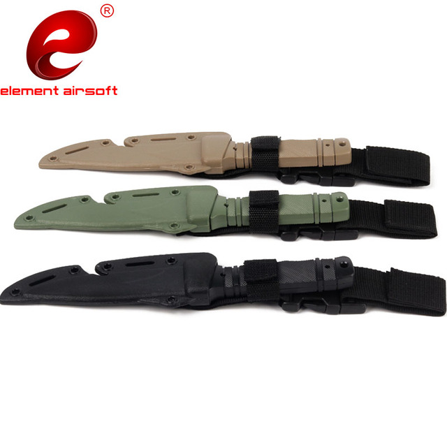 Military Tactical Training M9 Bayonet Rubber Plastic Soft Knife Sword CF Cosplay Tactical Dagger Knife Cy338