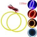 Бесплатная Доставка!!! 2 пара (4 шт.) 110 ММ 81 SMD Автомобилей Светодиодные Фары COB Angel Eye LED CCFL Halo Кольцо Angel Eyes Контрольные Лампы
