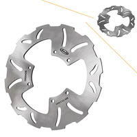 Front Left Brake Disc Rotor For Yamaha TW 125 1999 2000 & TW225 / SEROW / TRICKER 250 2005 2006 Motorcycle Spare Part