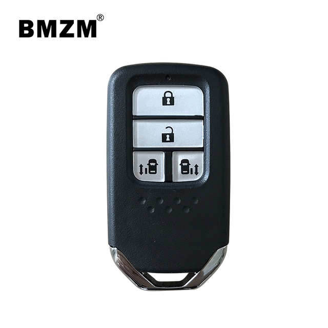 Civic CRV Jazz Accord Pengembaraan S2000 340 X BMZM 4 Buttons Remote Car Key 433mhz With 47 Chips For 2017 Honda Odyssey Elysion