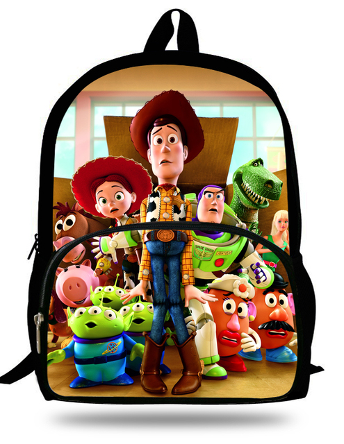 820c54803d8 16-Inch Buzz Lightyear Toy Story Backpacks For Teenage Boys Cartoon Mochila Toy  Story Children